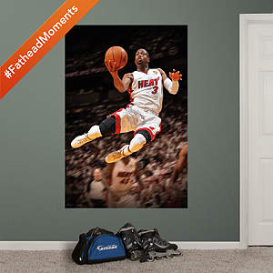 Dwyane Wade 2012 NBA Finals Mural Fathead Wall Decal
